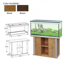 AMBIANCE 101 Brown colour w/FILTER 2x30w T8 lamp 180L volume capocity 101cmLx41cmWx50cmH 1set/outer