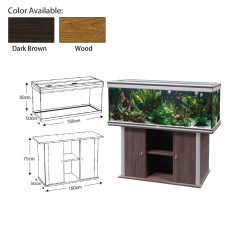AMBIANCE 150 Wood w/Filter 2x36w T8lamp 450 litres volume capacity 150cmLx50xmWx60cmH 1set/outer