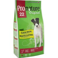 PRONATURE ORIGINAL ADULT ALL BREEDS LAMB & RICE 2.72kg 4bags/outer